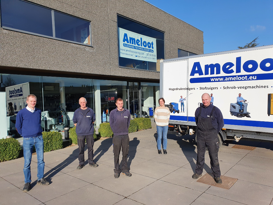 In de kijker: Ameloot Cleaning Technologies